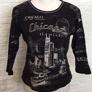 Christopher & Banks Chicago top